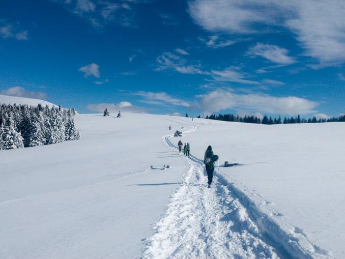 Бакейра-Берет: снег и лыжники