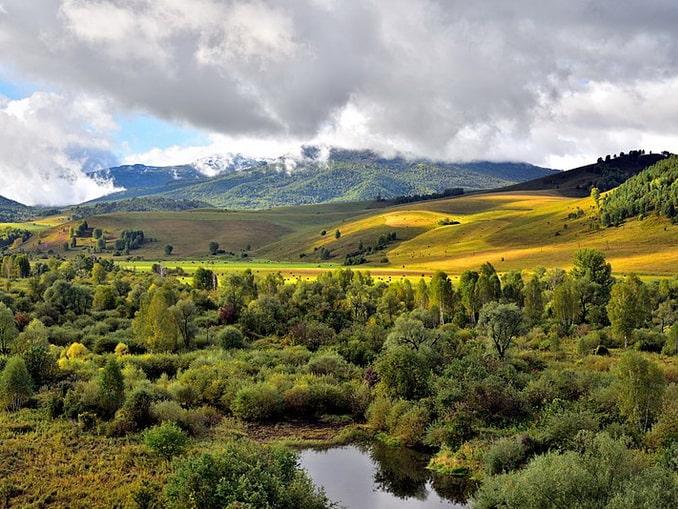 Природа Белокурихи, фото Александр Байдуков