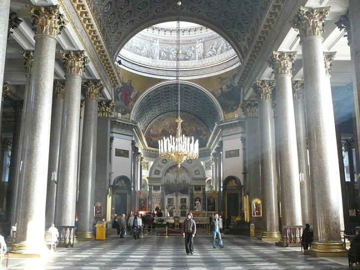 Интерьер Казанского собора
