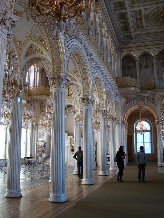 Павильонный зал, Малый Эрмитаж