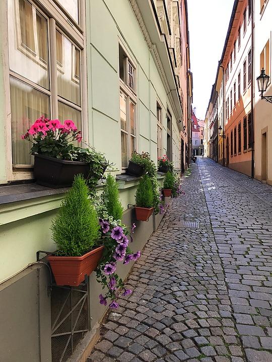 Прага, улица