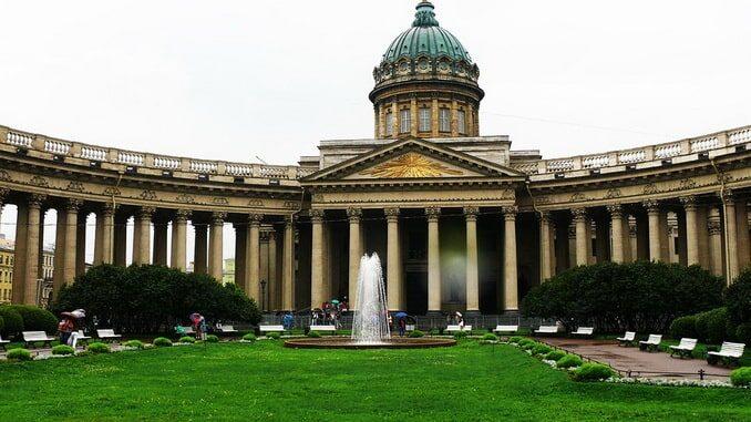 Казанский собор в Санкт-Петербурге, архитектор Воронихин