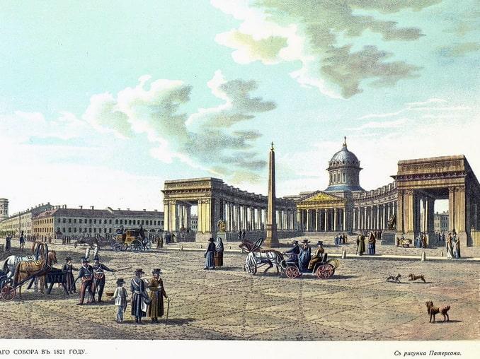 История постройки Казанского собора обросла легендами