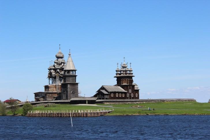 Кижи, Онежское озеро, Россия