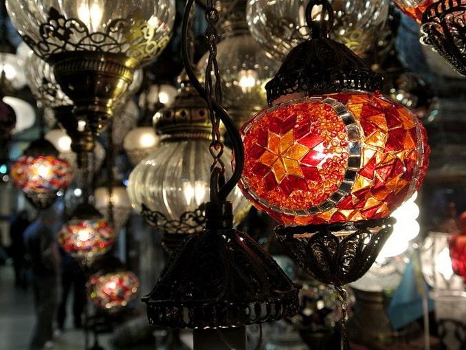 Лампы - отличный подарок из Турции