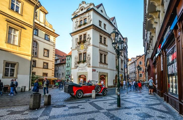 Прага, центр города