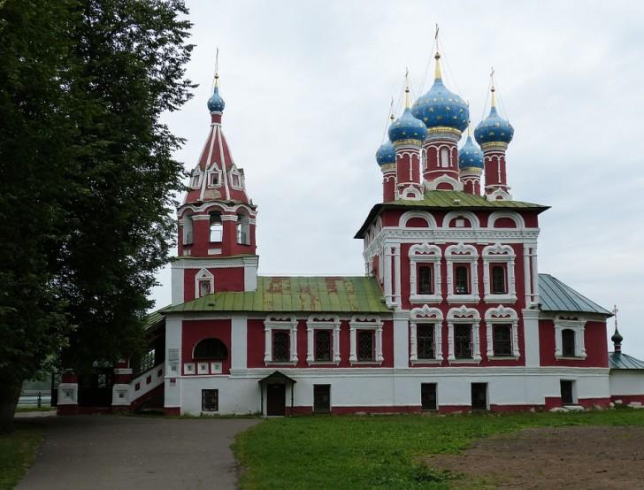 Церковь Димитрия-на-Крови, Углич