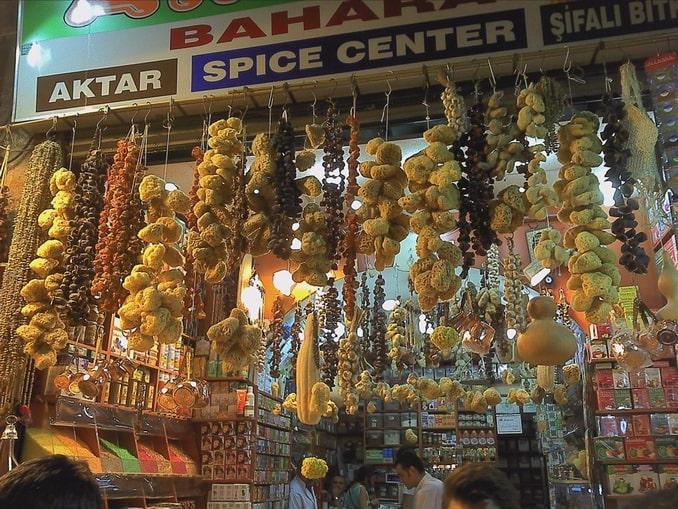 Морские губки - отличный сувенир из Турции