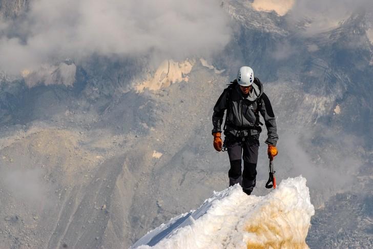 Альпинист, горы