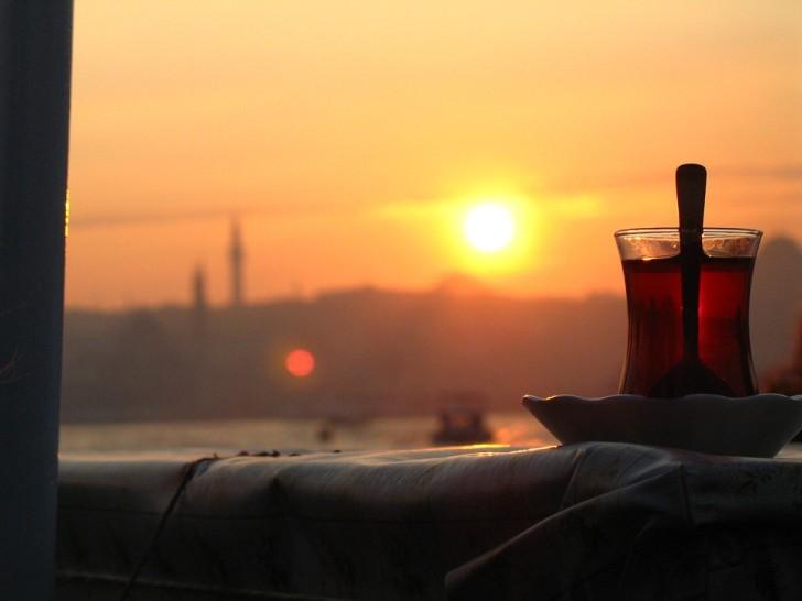 Чай на закате, Турция