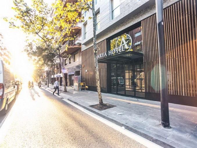 Ona Hotels Arya в Барселоне
