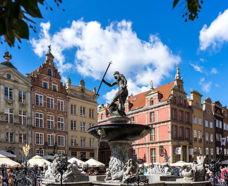 Гданьск, Старый город