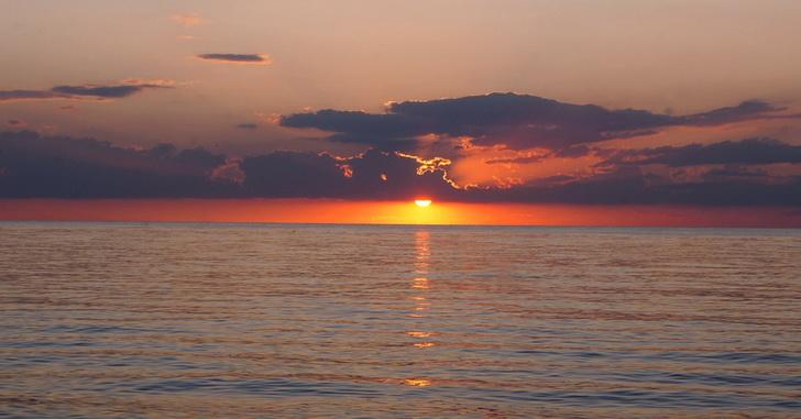 Крым, закат