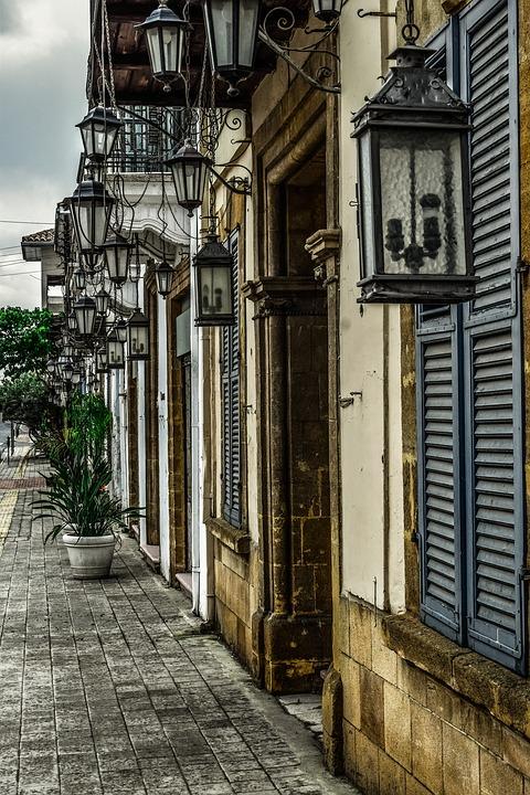 Никосия, улица