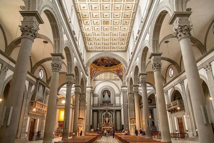 Базилика Сан-Лоренцо, интерьер