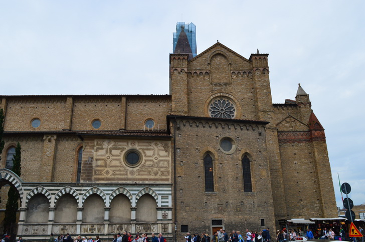 Боковой фасад Санта-Марии-Новеллы