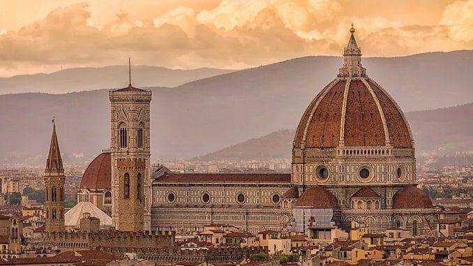 Собор Санта-Мария-дель-Фьоре во Флоренции, Италия