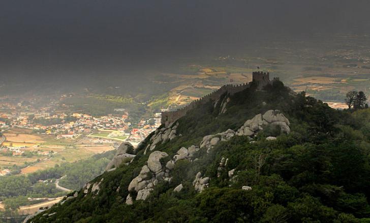 Мавританская крепость, Синтра