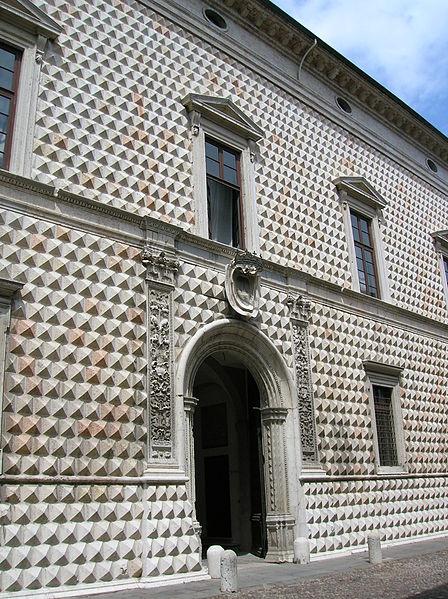 Алмазный дворец в Феррар