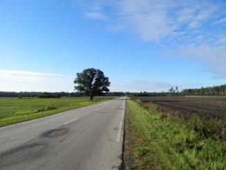 Дорога в Латвию