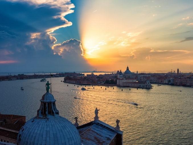 Сан-Джорджо-Маджоре - Венеция с колокольни