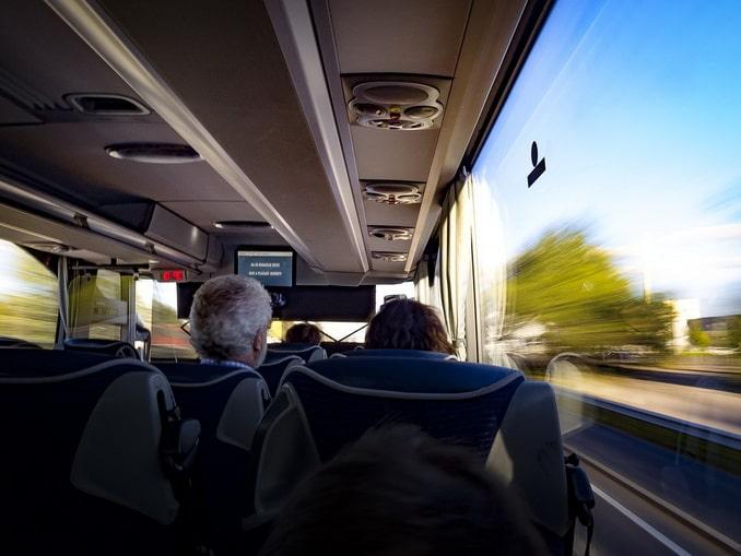 Автобус, путешествие