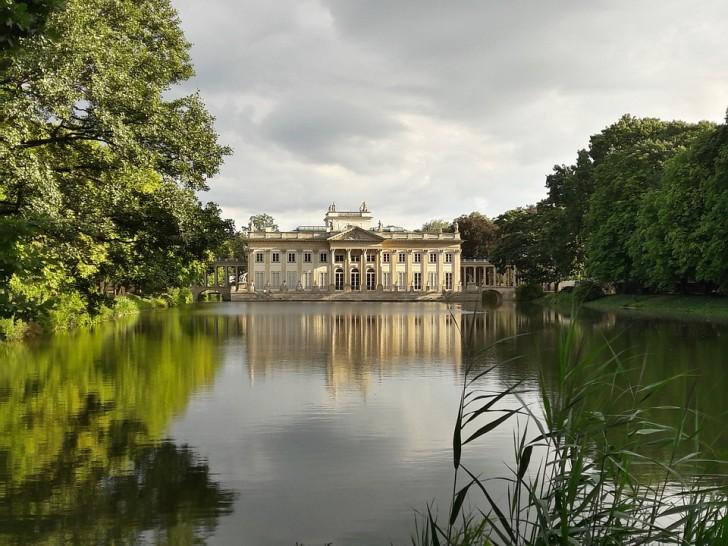 Парк Лазенки, Варшава