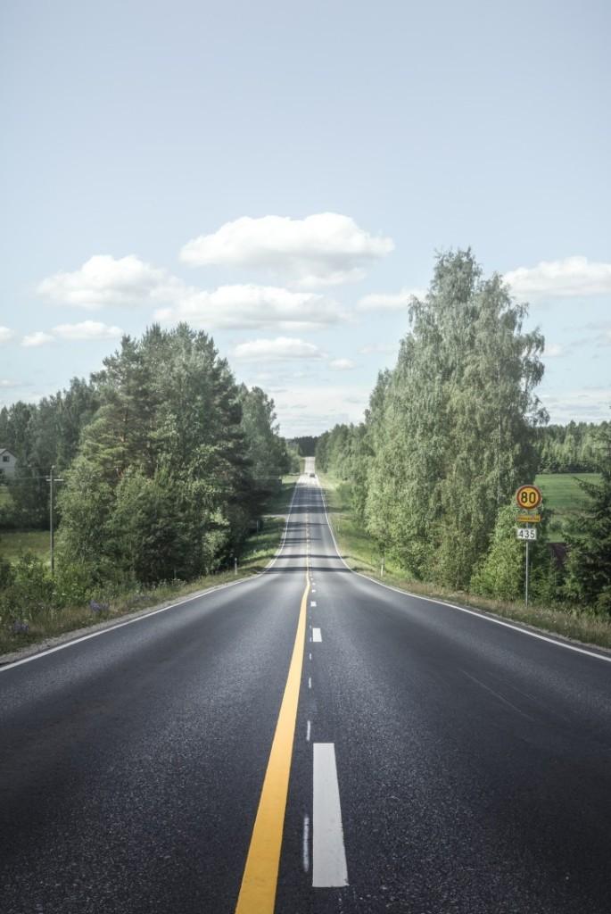 Дорога, Финляндия