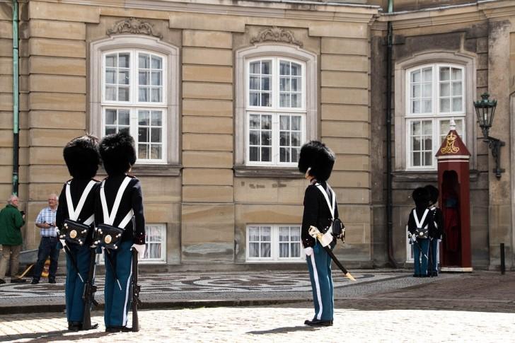 Гвардейцы короля, Копенгаген