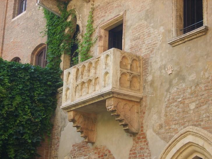 Верона, балкон Джульетты