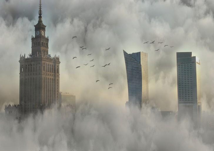 Варшава, небоскреб