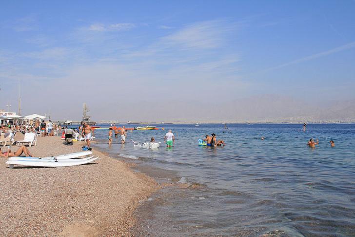Пляж в Эйлате