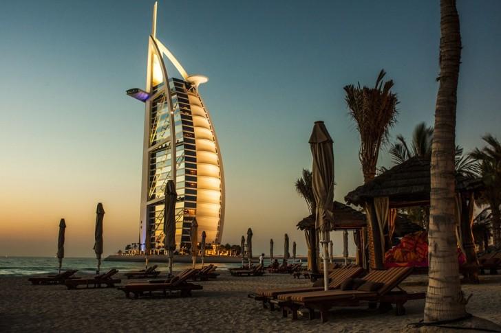 Бурж-эль-Араб, Дубай