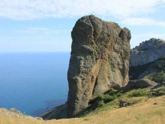 Крым в ноябре - вид на море