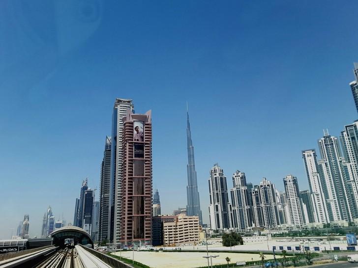 Футуристический Дубай