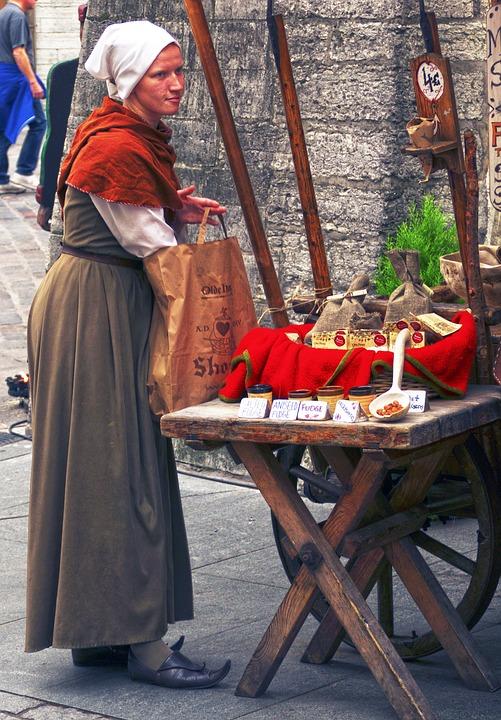 Таллин, уличная торговля