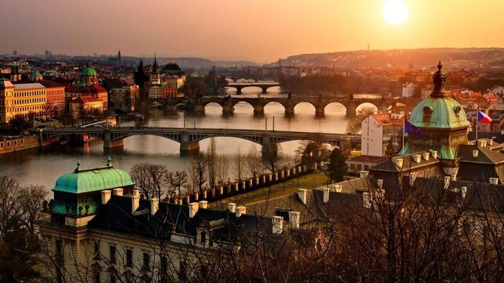 Прага, осень