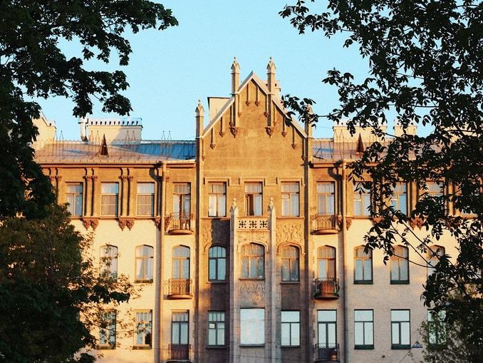 Дом в стиле модерн, СПб