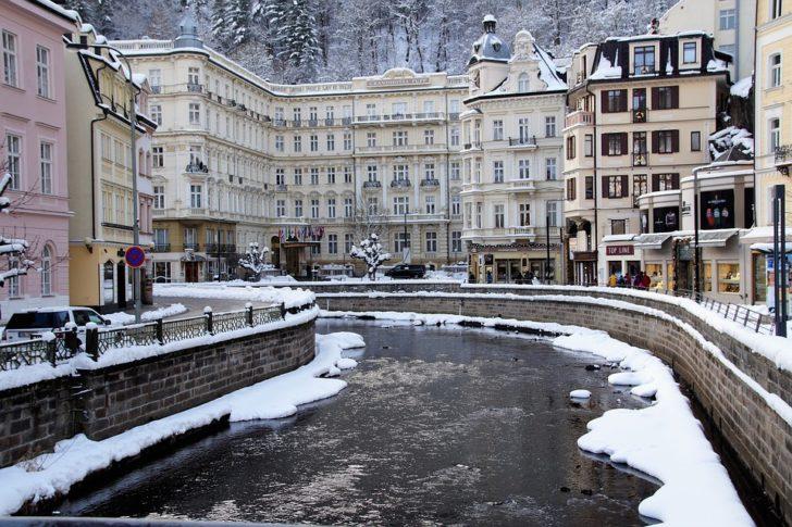 Карловы Вары, зима