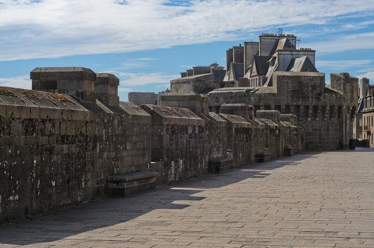 Сен-Мало, стены