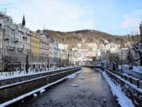 Карловы Вары, Чехия, Новый год