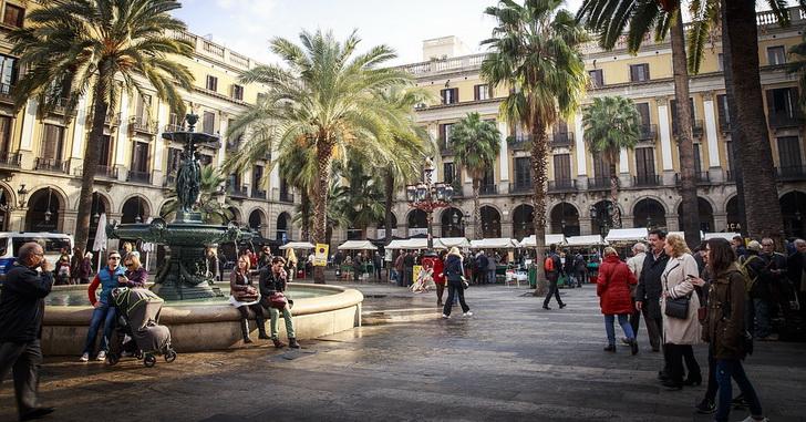 Барселона, Площадь Каталонии