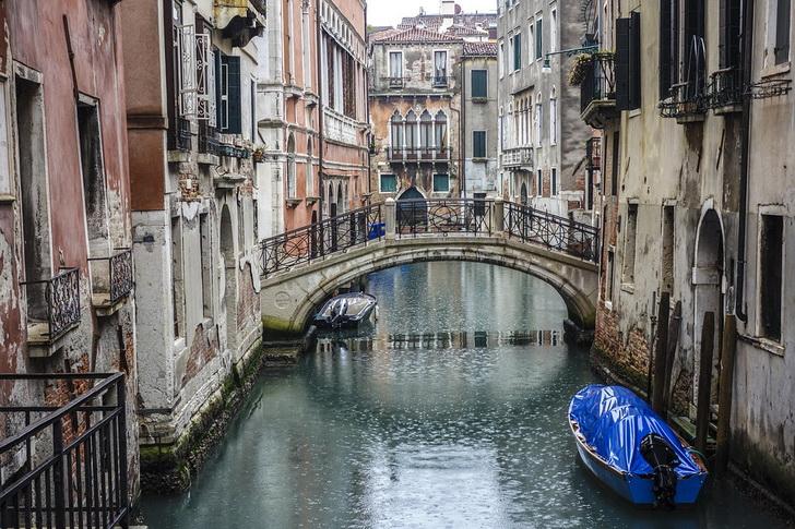 Венеция, дождь