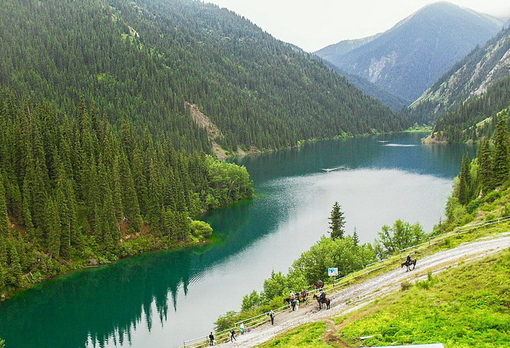 Кольсайские озера, Казахстан