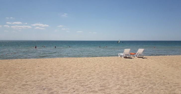 Крым, пляж