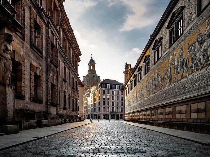 Дрезден. Фюрстенцуг