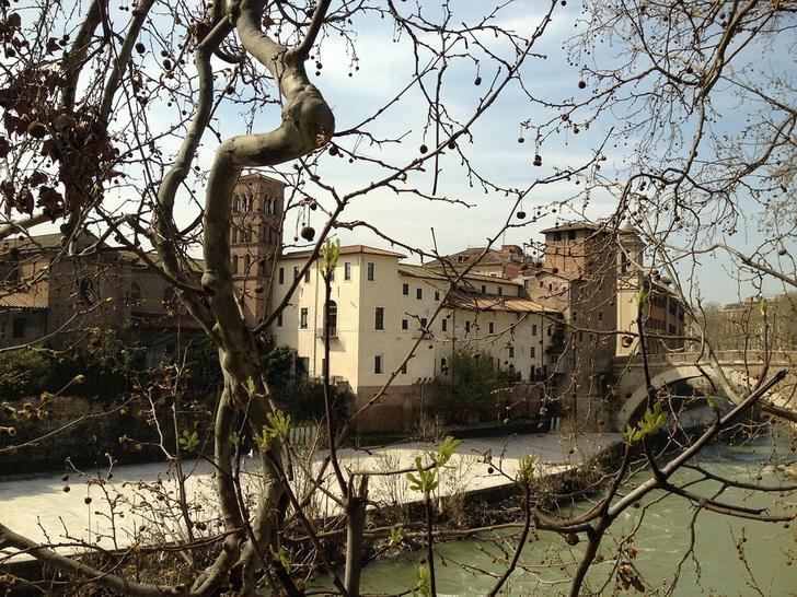 Тибр, Рим