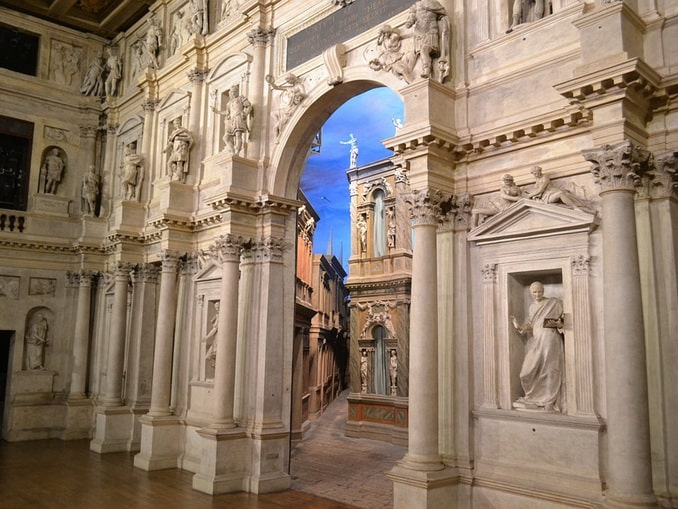 Театро Олимпико в Виченце, Италия