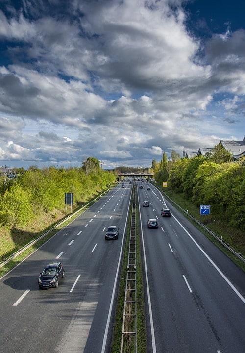 Автобан в Ганновере, Германия