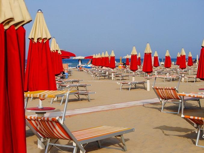 Пляжи в Римини - знаковая достопримечательность